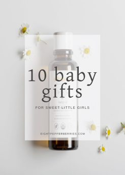 10 Girl Baby Shower Gifts >> Eight Pepperberries