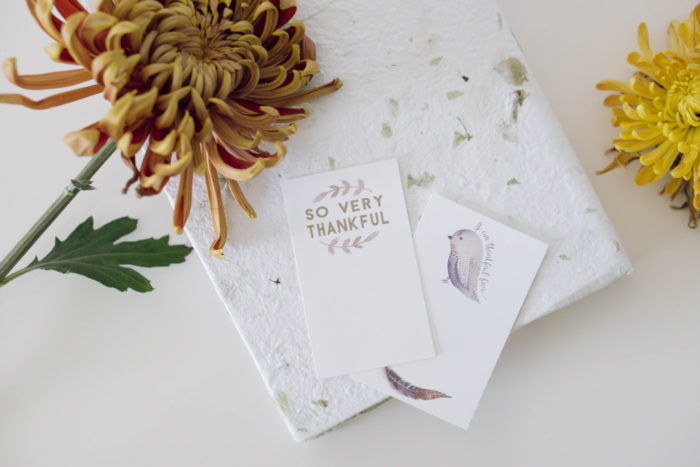 DIY Gratitude Wall Hanging || A Simple Way To Showcase How Thankful You And Your Family Are >> Eight Pepperberries