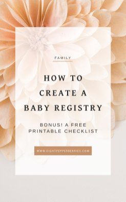 Stuck on where to start when it comes to creating your baby registry? Click through to learn how to create your personalized baby registry and grab your printable baby registry checklist! Grab the printable baby registry checklist here: http://bit.ly/2sR4vCv