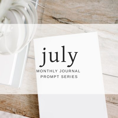 July 2018 Journal Prompts by Eight Pepperberries. New Prompts Released Each Month!