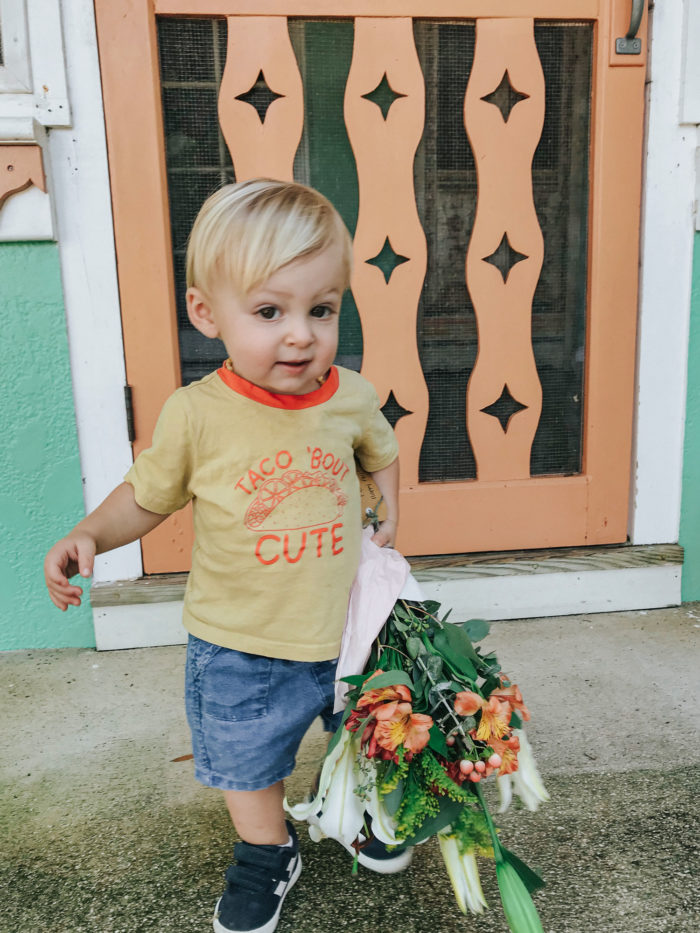 Delivering fall flower bouquets to spread cheer
