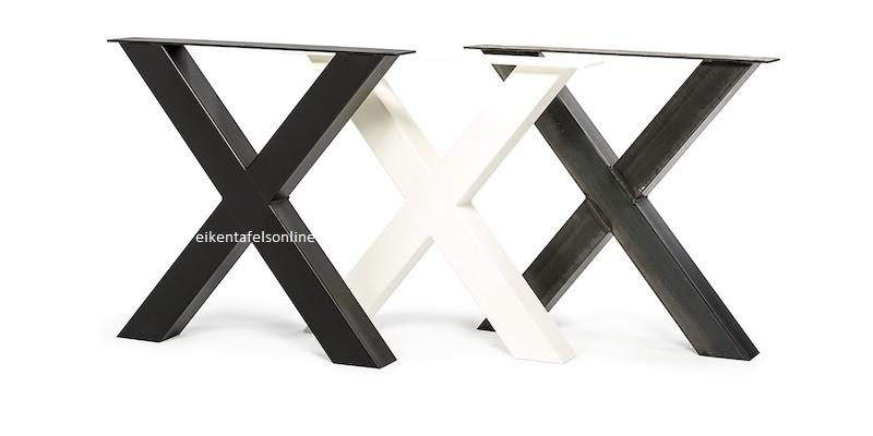 Metalen tafelpoot  V model  20x10