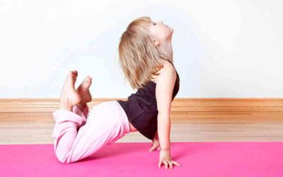 ¡En La Jirafa practicamos Yoga!