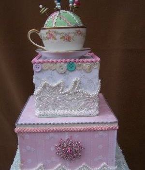 Green Gallery Cake- Part 5