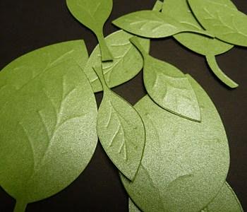 Sizzix Fresh Vintage Blog Hop: Leaves