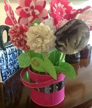 Baby Shower Flower Wishes