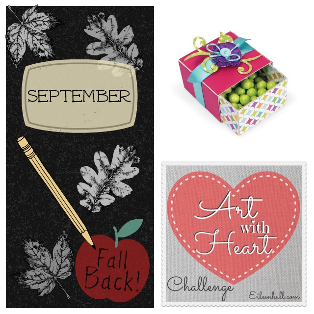 Art with Heart Challenge September Sizzix Prize Pack | Eileenhull.com