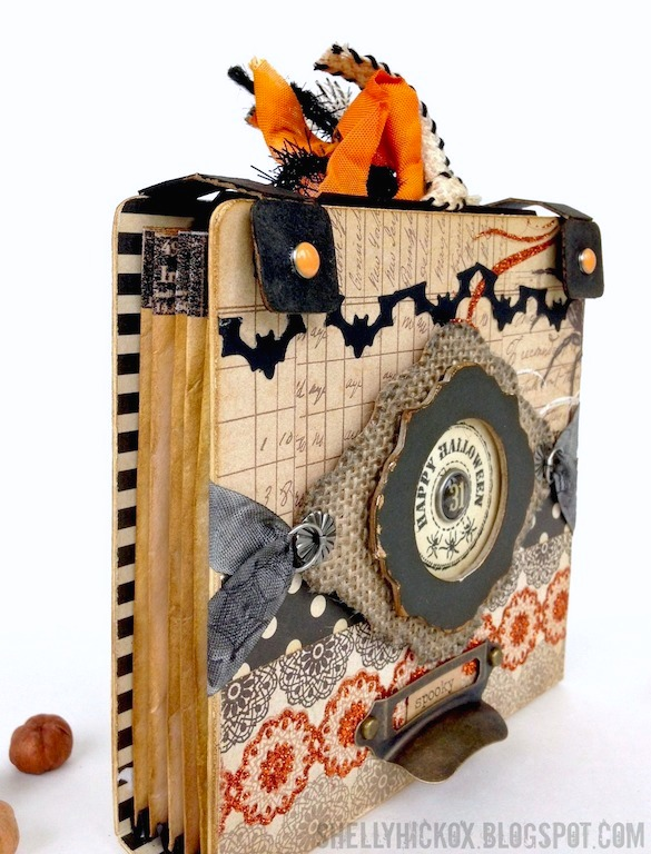 Halloween Mini Accordion Album by Shelly Hickox | Eileenhull.com
