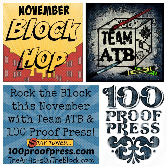 Team ATB & 100 Proof Press Block Hop