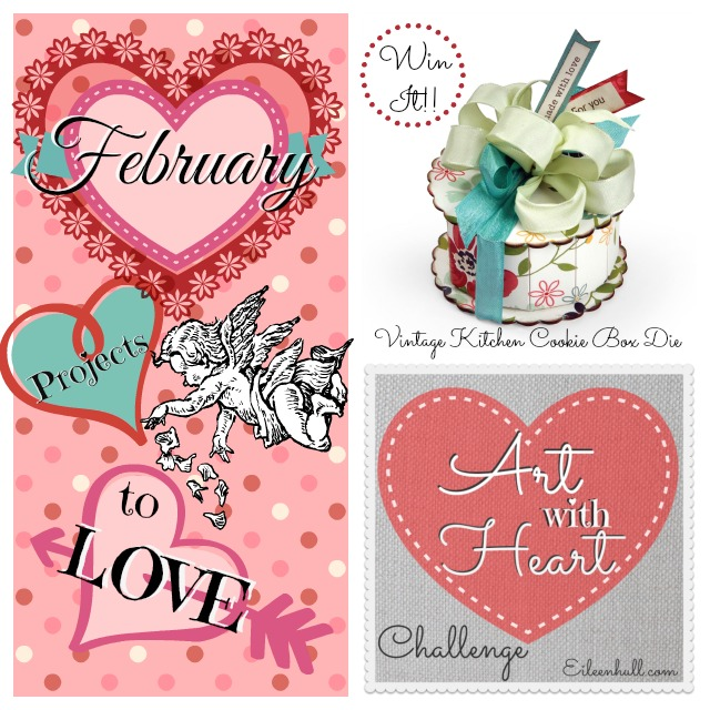 "February Art with Heart Challenge ""Projects to Love"" Sizzix Prize Pack 