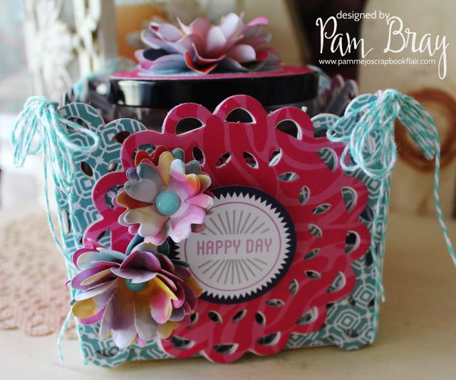 Sizzix Make it 3-D Lace Doily Gift Box by Pam Bray
