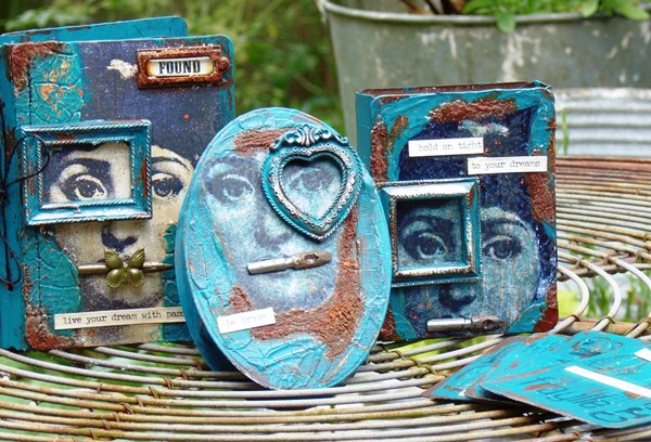 Sizzix Make it 3-D Mixed-Media Project Tutorial by Tracy Evans