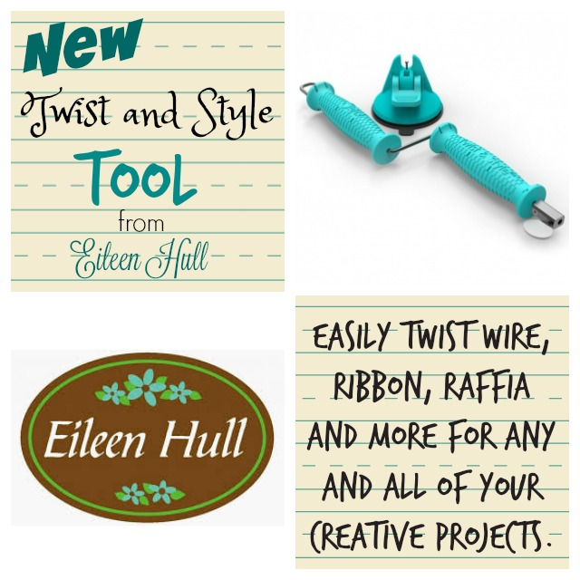 Eileen Hull Twist and Style Tool from Sizzix