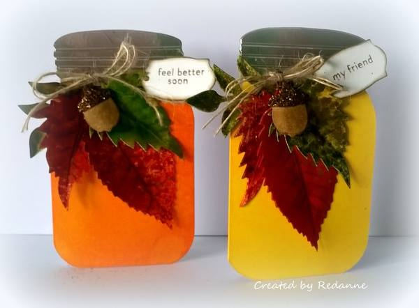 Create Cards with Sizzix: Eileen Hull Canning Jar Cards by Anne Redfern
