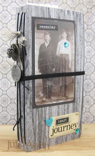 Eileen Hull's Heartfelt Sizzix Collection : Idea-ology Junk Journal by Julia Aston