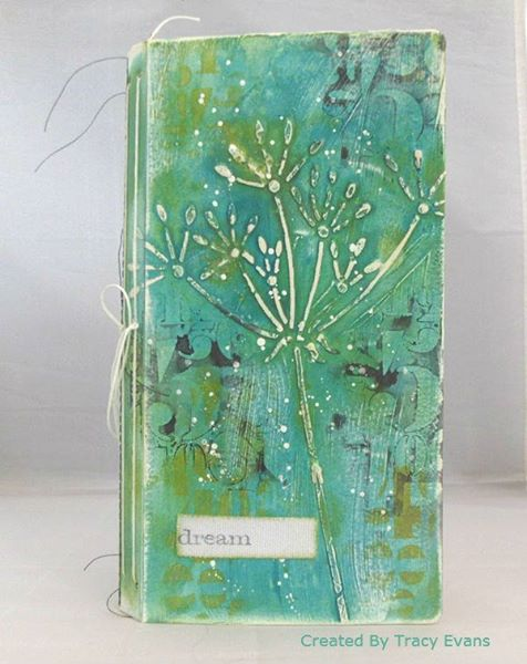 HeARTfelt Journals: Eileen Hull Sizzix Journal with Clearsnap Blends by Tracy Evans