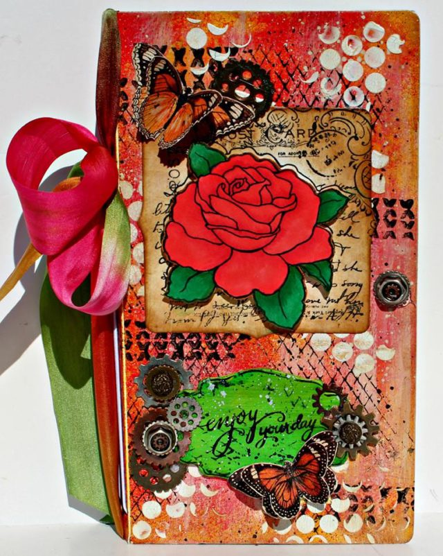 HeARTfelt Journal Tutorials: Everyday Stampendous Journal by Pam Bray