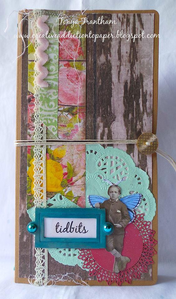More HeARTfelt Journal Ideas: Tidbits Journal by Tonya Trantham