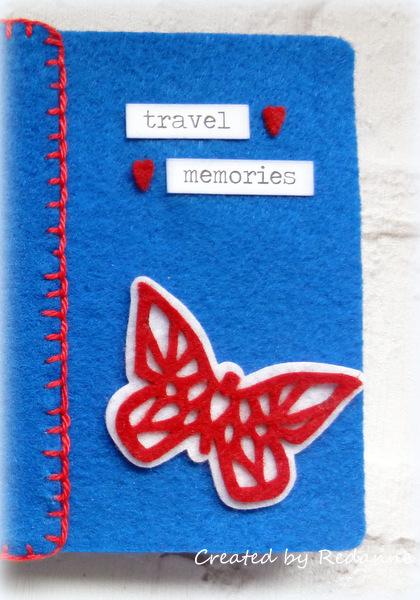 Kunin Heartfelt Sizzix Tutorials: Felt Passport Book by Anne Redfern