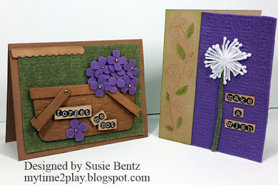 Kunin and Sizzix Heartfelt Project Tutorials: All Occasion Cards by Susie Bentz