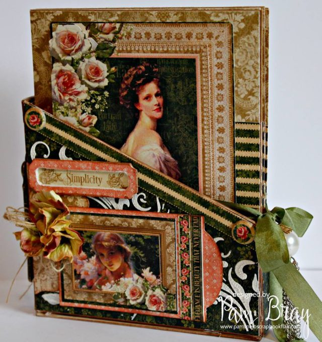 Eileen Hull's New Book Club Sizzix Collection: Card Storage Box Gift Card Holder by Pam Bray