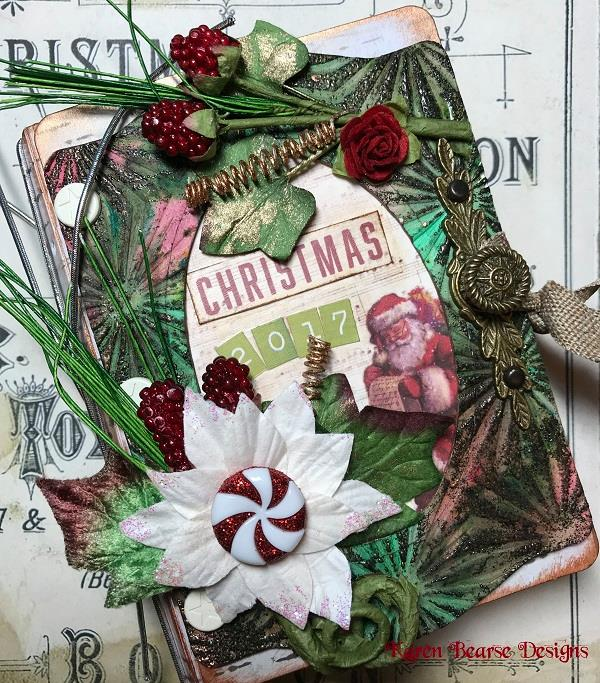 Eileen Hull's Book Club Sizzix Collection: Trinket Box and Frame Mini Book By Karen Bearse