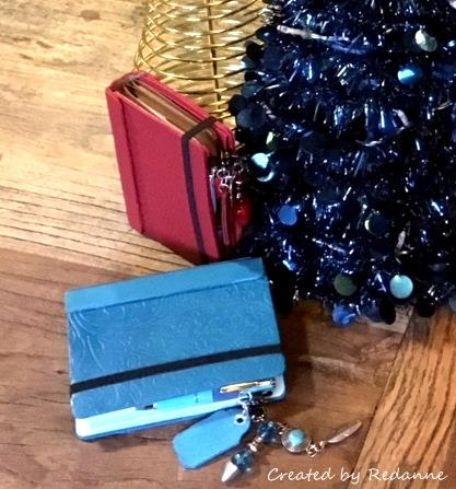Eileen Hull Holiday Gifts and Decor Projects: Hand Bound Leather Journals by Anne Redfern