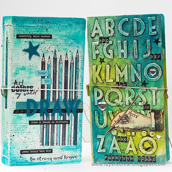 Eileen Hull Sizzix Die Gift Projects: Sketch Book Journal by Anna-Karin Evaldsson