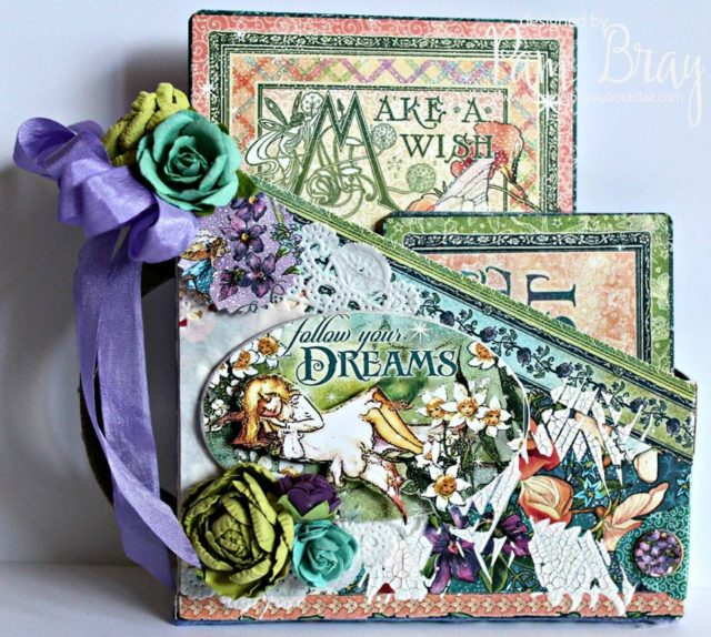 Book Club Sizzix Projects to Love: Fairy Dust Card Box Organizer by Pam Bray
