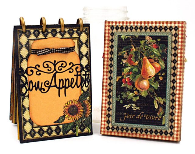 Book Club Sizzix Projects to Love: Recipe Card Booklet and Storage with Graphic 45 by Maggi Harding