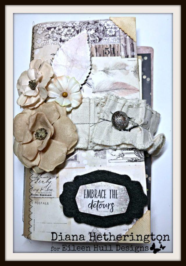 Book Club Love Sizzix Projects: Wedding Journal by Diana Hetherington