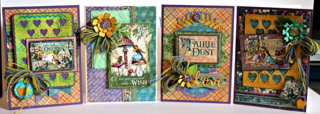 Book Club Sizzix Collection Chapter Two : Graphic 45 Fairy Dreams Card Collection by Pam Bray