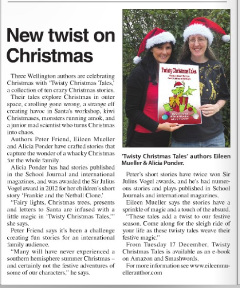 Cook Striat News Twisty Christmas Tales