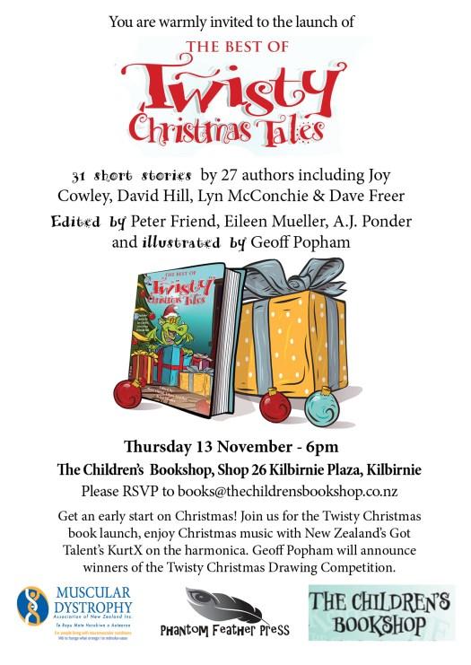 Invitation Twisty Christmas