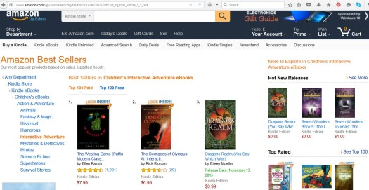 Dragons Realm No 3 Amazon