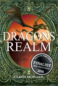 Dragons Realm - shortlist 2016 Sir Julius Vogel Award best youth novel