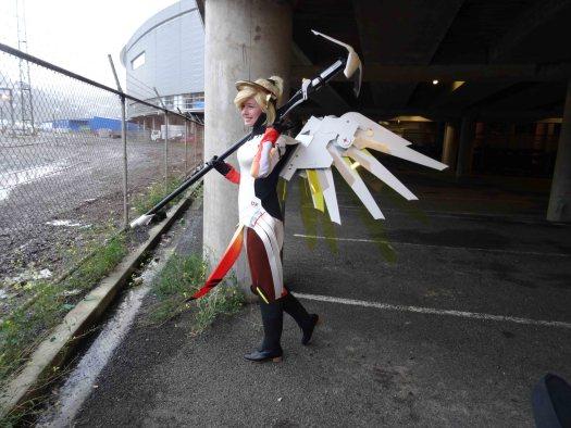 Ravenheart Cosplay - Armageddon Wellington Wings Mercy - Overwatch
