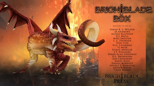 Brightblade Box - dragon books and gifts #giveaway #dragons