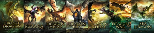 Bronze Riders of Fire series