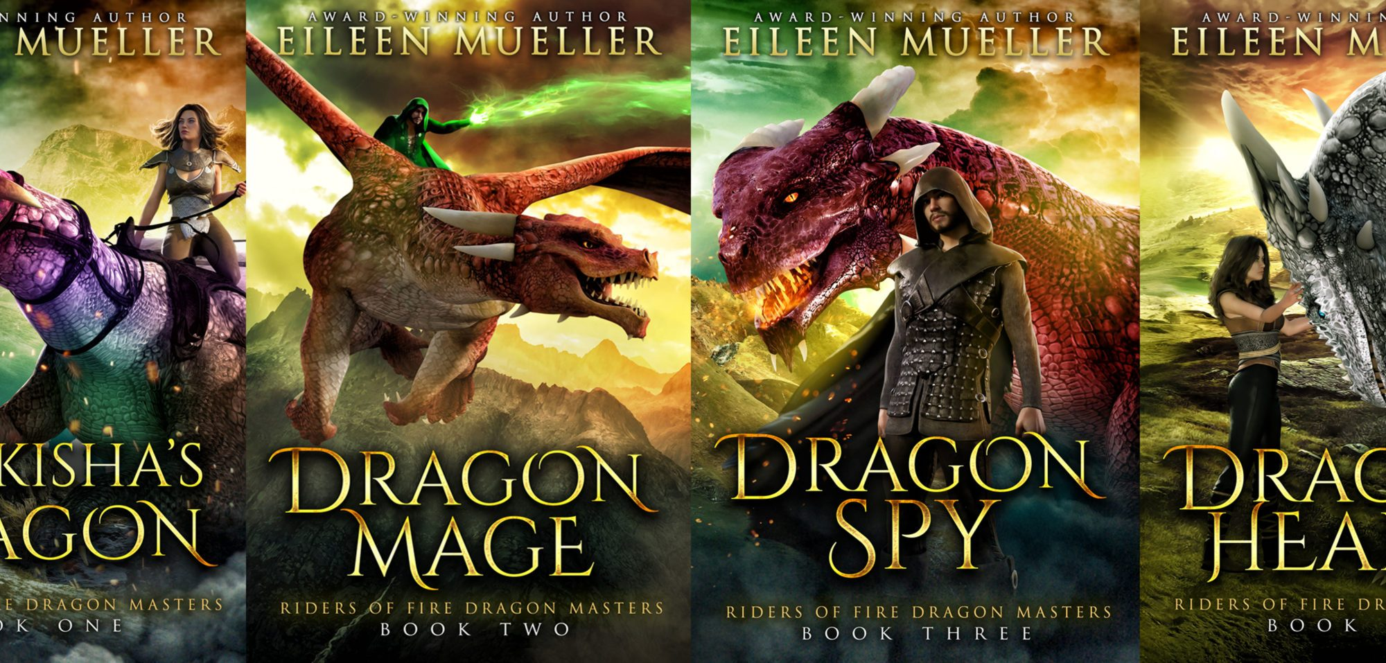 riders of Fire Dragon Masters series