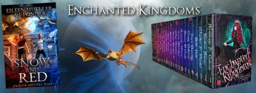 Enchanted Kingdoms, a young adult fanatsy box set of 22 fairytale retellings by bestselling authors.