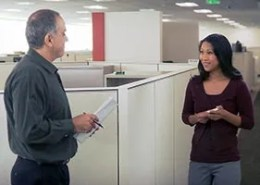 A video produced for a corporate personnel department
