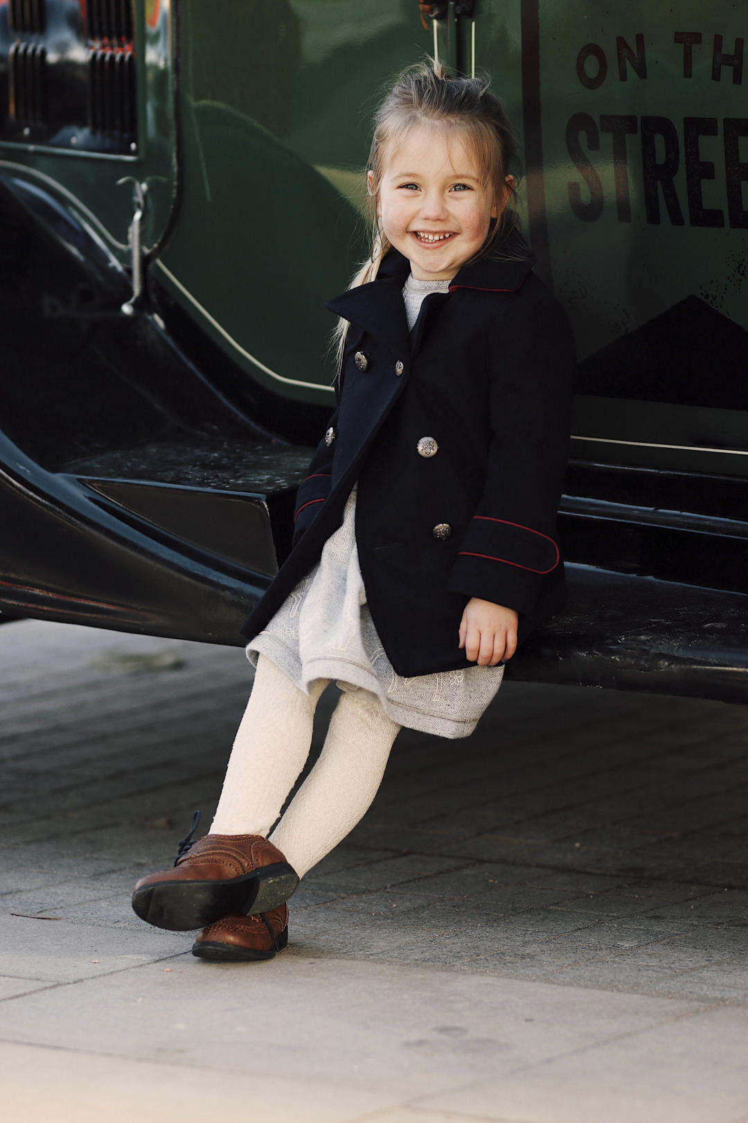 Kids Winter Coat Navy Style Coat Monsoon Fashion