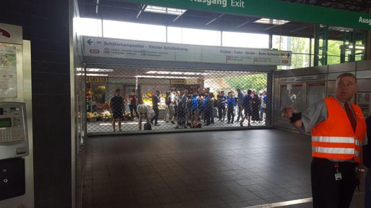 Schlump, U-Bahn-Haltestelle, G20