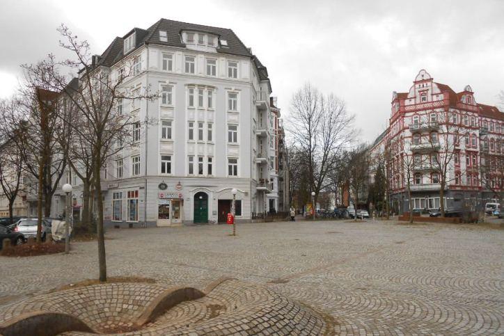 Tauschhaus am Platz ohne Namen