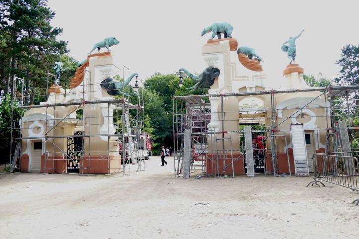 """Wahrzeichen vom """"Tierpark Hagenbeck"""" wird renoviert"""