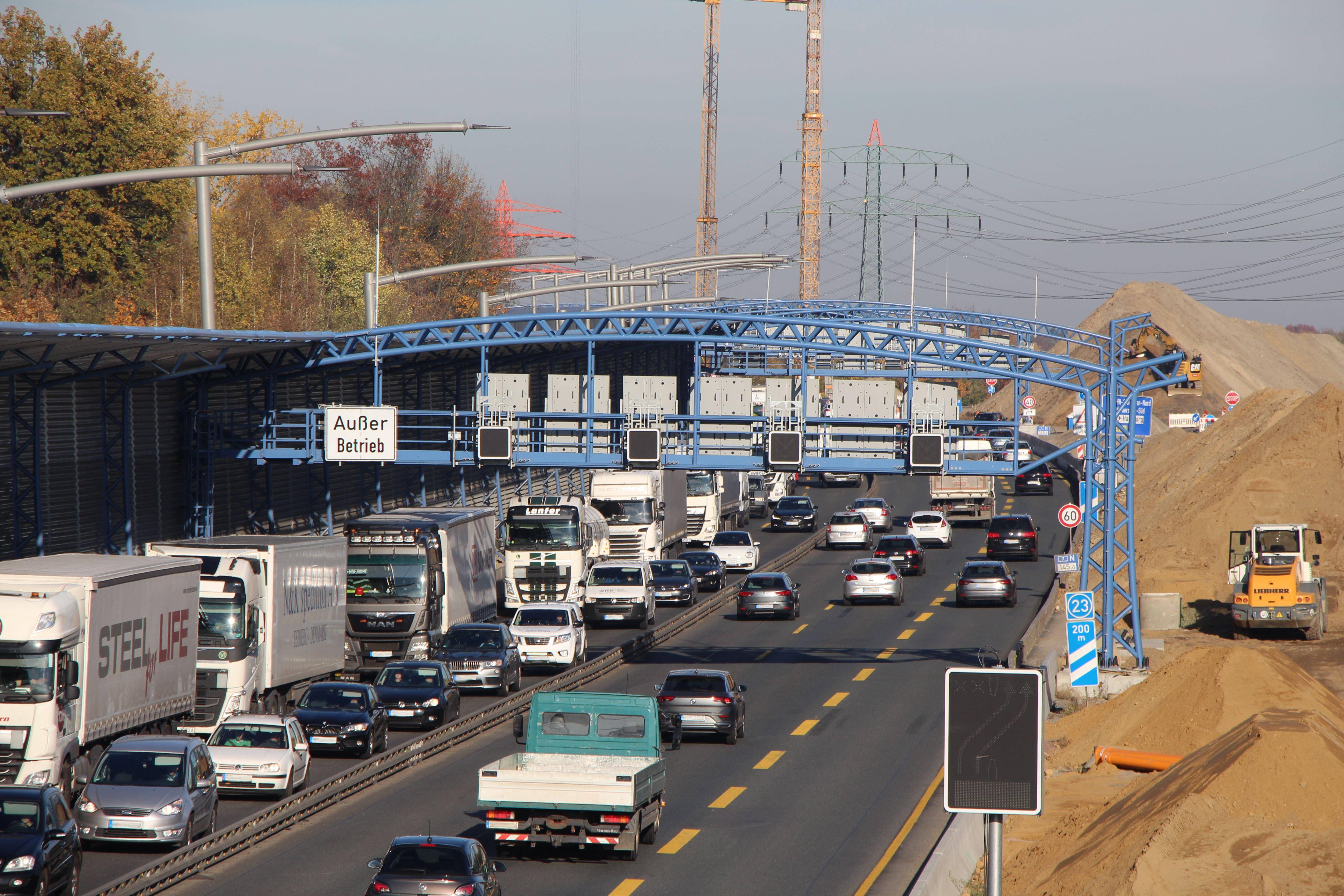 Bauarbeiten an der A7: Ausfahrt in Schnelsen gesperrt