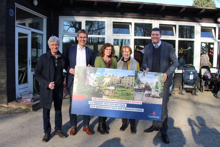 Spielhaus im Wehbers Park bekommt Neubau