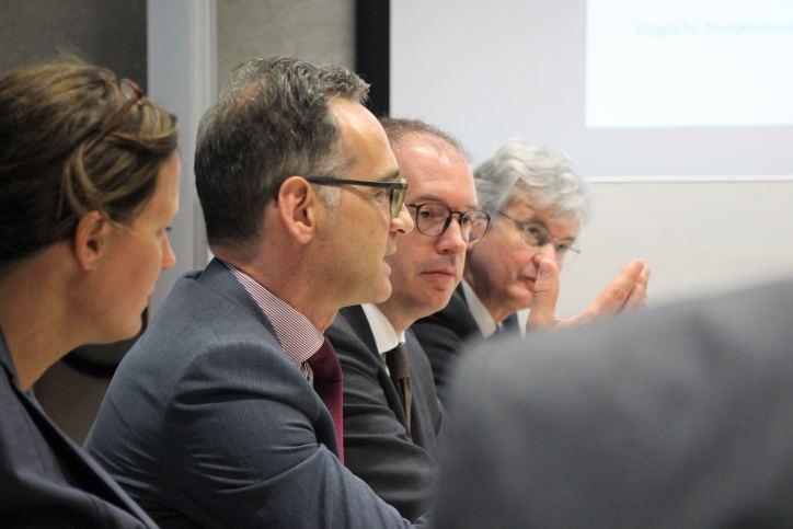 Uni Hamburg: Außenminister Maas informiert sich zur Klimaforschung