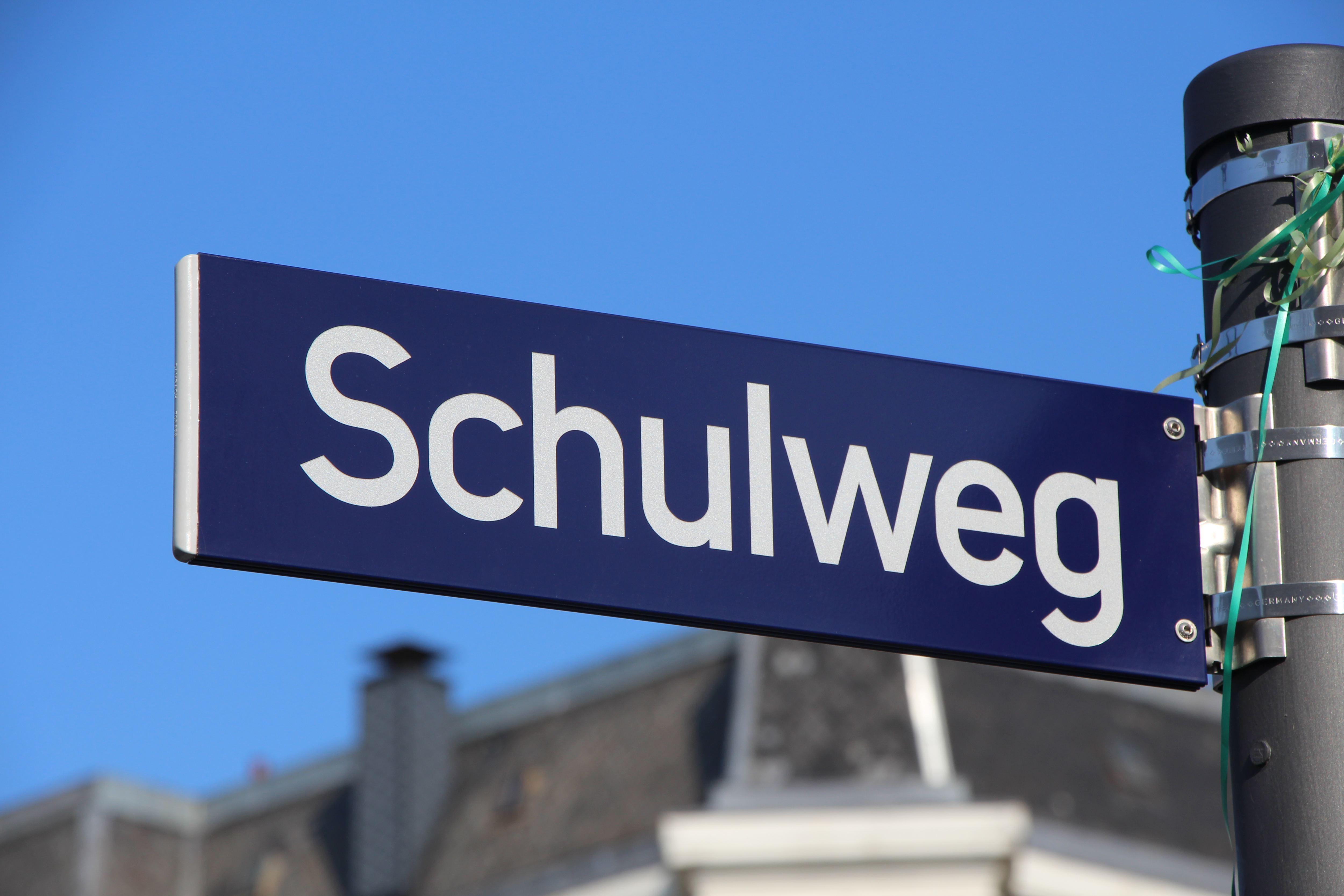 Straßennamen in Eimsbüttel: Der Schulweg